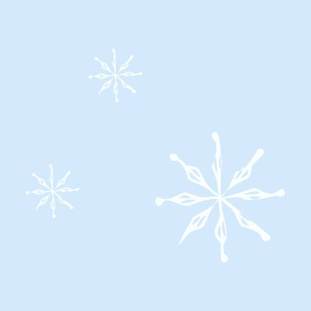 snowflake icon. sign design. red background 向量圖像