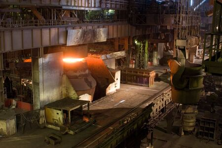 ferrous: Ferrous metallurgy, manufacture of pig-iron