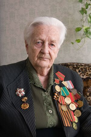 The veteran of war 1941-1945 with Germany photo