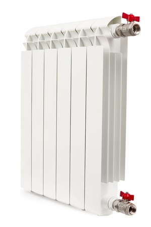 radiator isolated on the white background Stock Photo