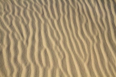 Sand ripple on beach
