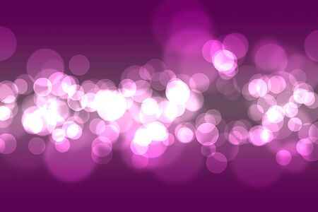 Artistic abstract purple bokeh pattern photo