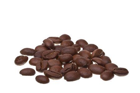 Handfull of coffee beans