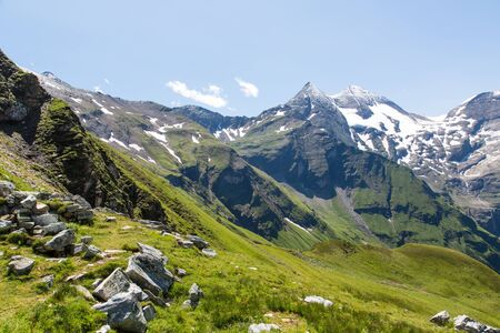 Beautiful scenery of the Alps