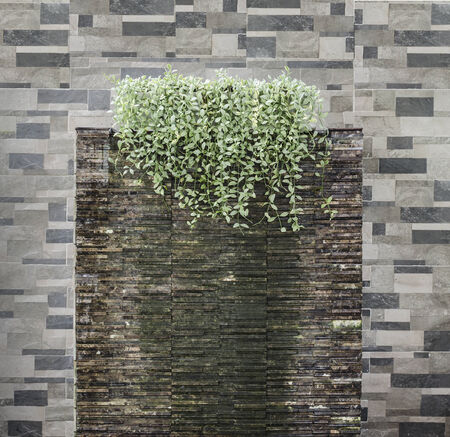A mini water fall for house decoration photo