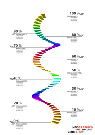 dimensions: The 3D dimensions spiral stair white spectrum color