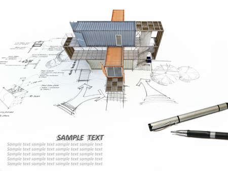 building sketch: A 3Ds building transform from hand sketch