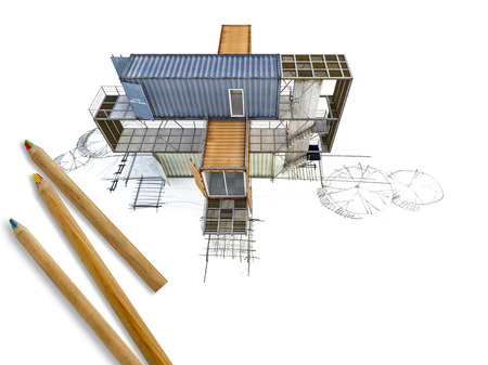 3ds: A 3Ds building transform from hand sketch