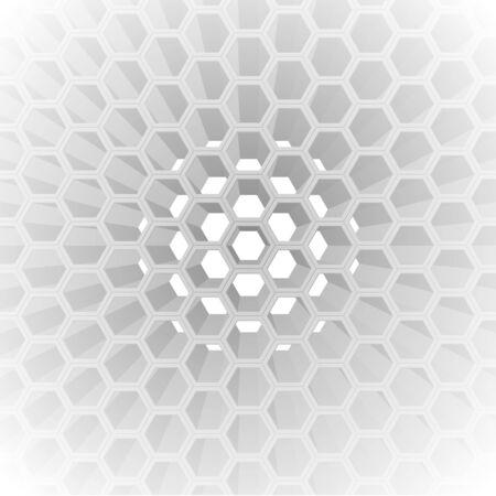 honeycomb: 3D honeycomb pattern Illustration