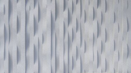 3d rendering image of curved concrete wall pattern 免版税图像