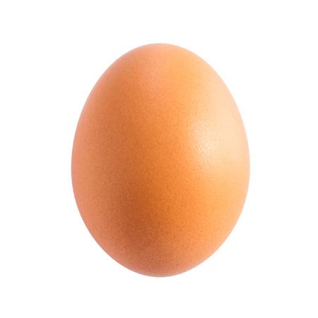 Egg isolated on white background cutout Фото со стока