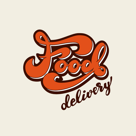 Vector illustration with graphic elements and lettering. Çizim