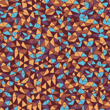 Seamless pattern with ethnic design. Vector illustration.
