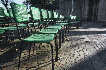 chairs for outdoor shows and ceremonies