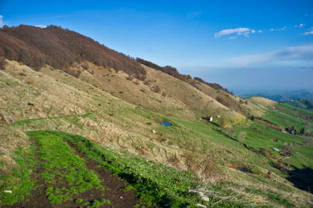 panoramic view of Campofontana di Selva di Progno - Regional Natural Park of Lessinia