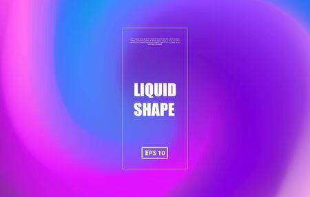Swirl colored background. Gradient futuristic design. Vector illustration. Zdjęcie Seryjne - 127113244