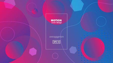 Liquid color background design. Fluid gradient shapes composition. Futuristic design posters. Minimal geometric background. Dynamic shapes composition.. Zdjęcie Seryjne - 129363913
