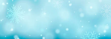 Christmas background with snowflakes, starbursts, sparkles and light vector effect for luxury greeting card.Vector Zdjęcie Seryjne - 158791844