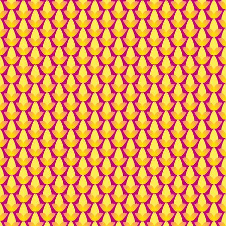 Vintage flower seamless pattern  Vector