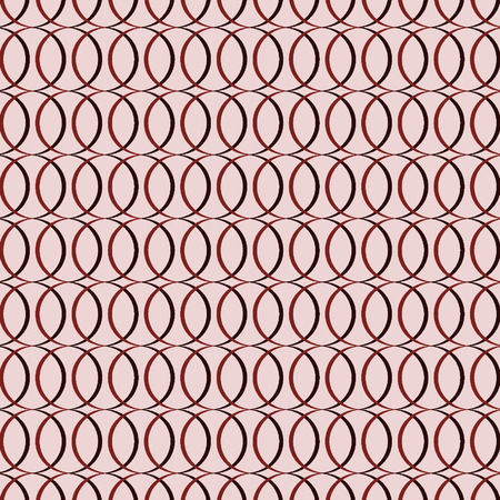 Geometric circles seamless pattern, abstract modern background vector format Vector