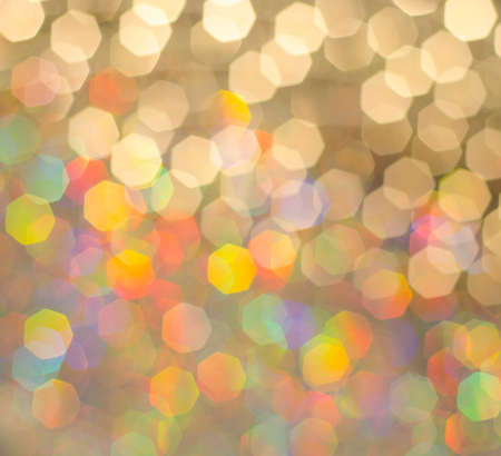 Elegant abstract background with bokeh lights and stars photo