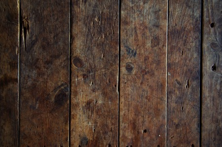 Wood texture background old panels with vintage filter photo