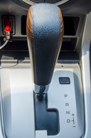 modes: Gearbox the mechanism of switching modes of car automatic transmission