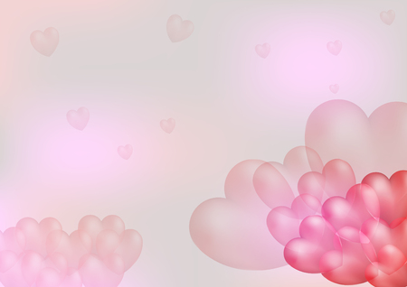 fondness: Heart background.