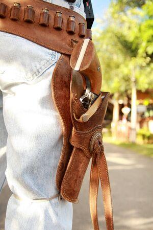 holster: cowboy Stock Photo