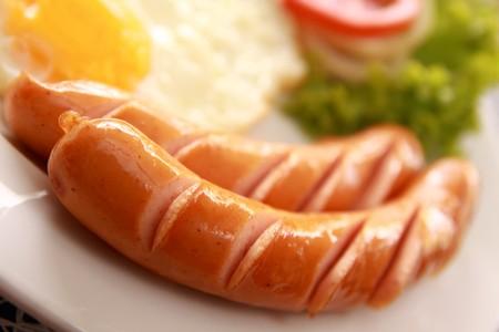 Sausages. photo