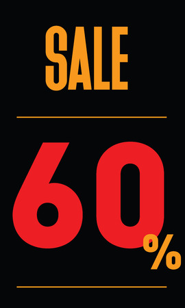 60: Sale 60 Label
