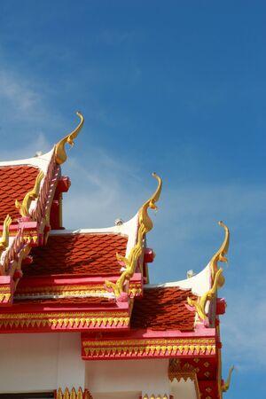 gabled: Temple Thailand