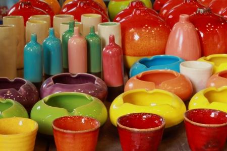 Ceramic vase  photo