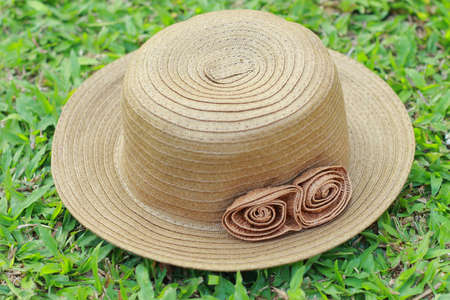 Woven hat  Stock Photo