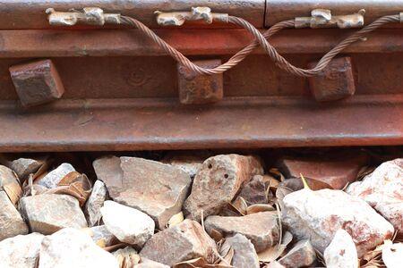 sleepers: Railway sleepers.
