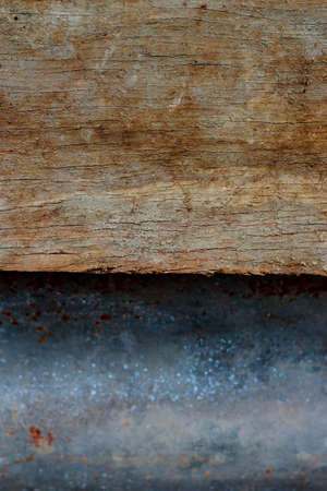 Old zinc and wood background Stock Photo - 19398210