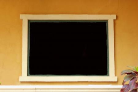 double glazing: Vintage window  Stock Photo