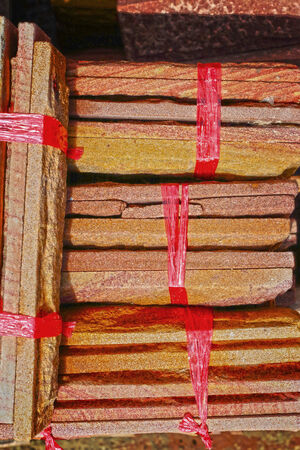 Red brick for construction Stock Photo - 23139230