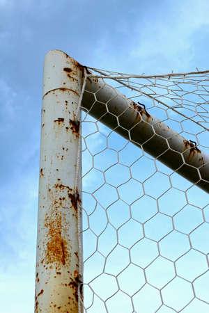 goalpost: Goal football Stock Photo