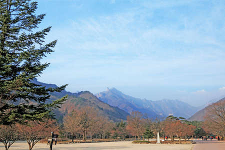 landscape at Seoraksan Korea. photo