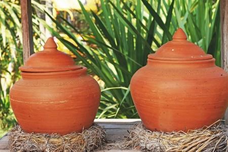 earthen: Earthen water jars