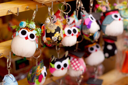 keychains: Keychains cute doll in the gift shop