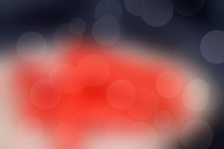Bokeh red colorful background Stock Photo