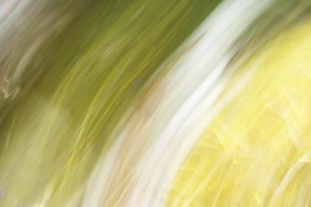 golden  gleam: blurred light trails background Stock Photo