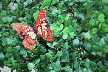 butterfly garden: Artificial butterfly garden decor