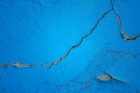 peeling paint: Cement wall with peeling paint
