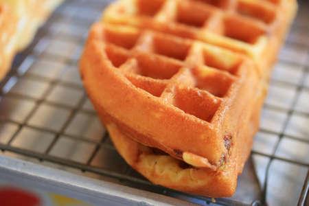 waffles: Galletas dulces