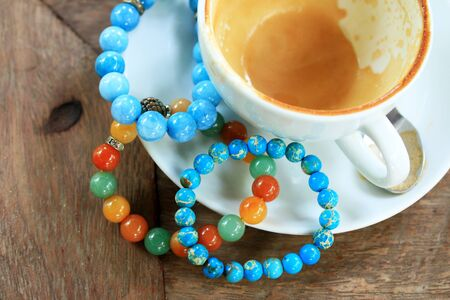 couleurs vives: Bracelet bright colors - jade