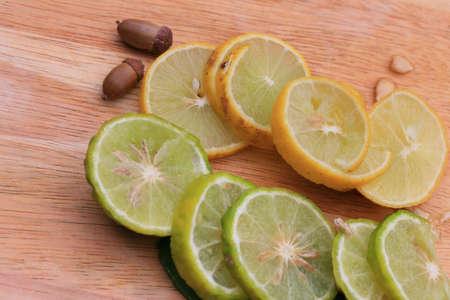 kaffir: kaffir and lemon