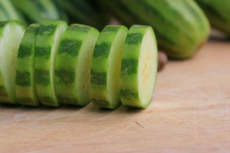 野菜新鮮なキュウリ 写真素材